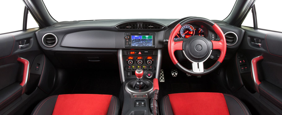 Toyota 86 Blackline Edition Interior