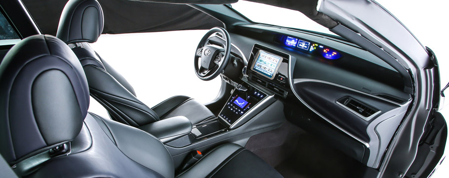 Toyota Back to the Future Mirai Interior