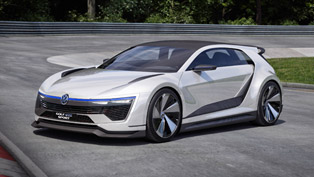 vw reveals the stunning golf gte sport concept
