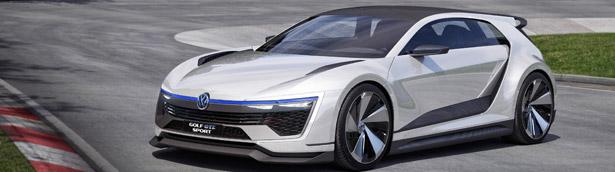 VW Reveals the Stunning Golf GTE Sport Concept