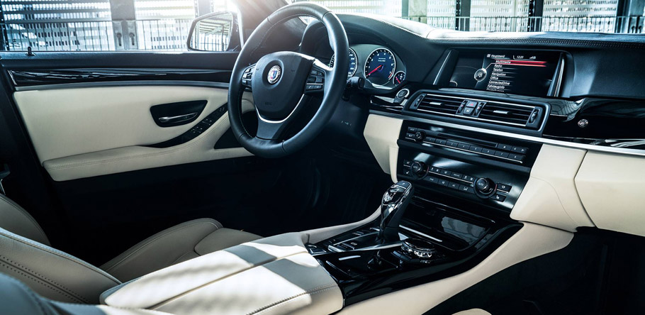 BMW Alpina B5 BiTurbo Interior