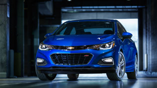 2016 Chevy Cruze Goes on Sale Next Spring. Pricing Starts at $17,495 USD