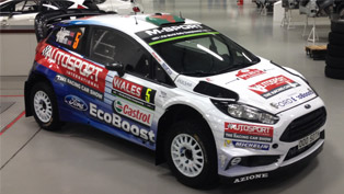 Elfyn Evans Showcases his Special 2016 Ford Fiesta WRC Vehicle
