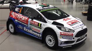 Elfyn Evans Showcases his Special 2016 Ford Fiesta WRC Vehicle