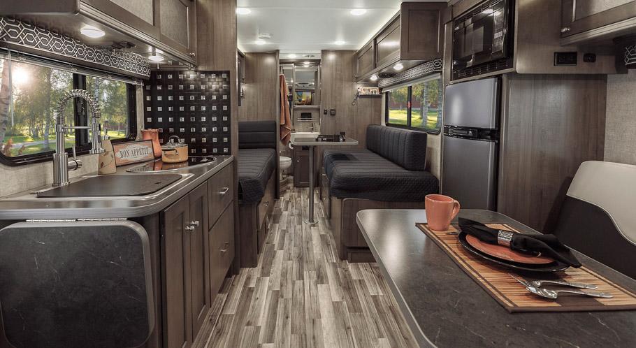 Winnebago Is Ford Transit Based Luxury Motorhome We Are