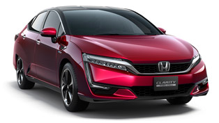 honda clarity fuel cell made its debut at 2015 los angeles motor show