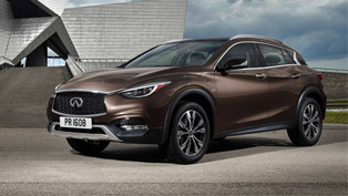 2016 Infiniti QX30 Premium Active Crossover Made its Global Debut