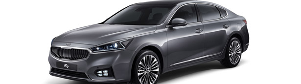Kia Cadenza Facelift, or How To Make Even More Beautiful Vehicle