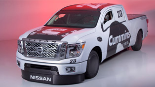 2016 TITAN XD Is Nissan's Choice for Land Speed Record Event