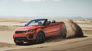 exclusive: range rover evoque convertible with official debut [videos]