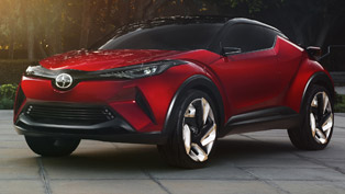 Scion Unveiled the 2016 C-HR Concept Vehicle