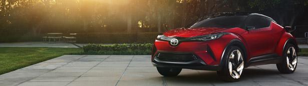 Scion Unveiled the 2016 C-HR Concept Vehicele