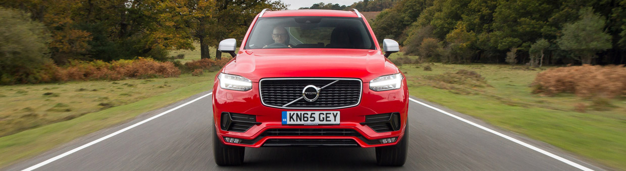 Volvo XC90 R-Design Front View
