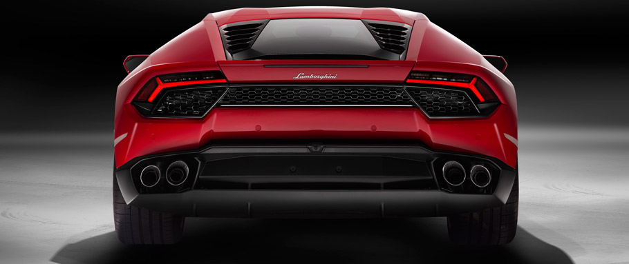 Lamborghini Huracan LP 580-2 Rear View