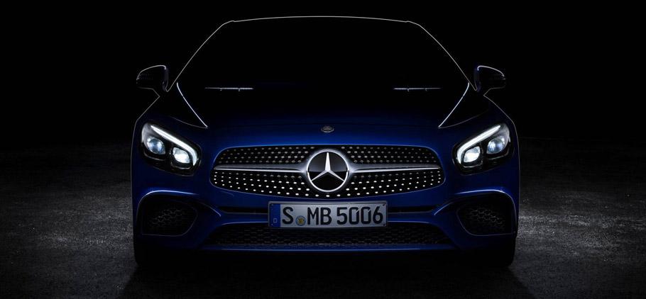 Mercedes-Benz SL teaser