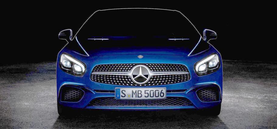 Mercedes-Benz SL teaser - highlighted