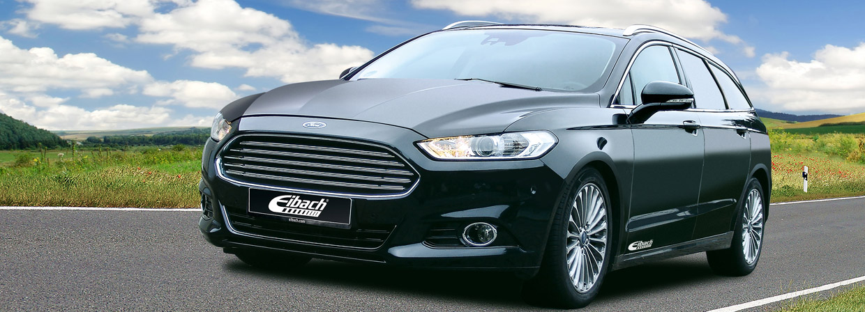 Eibach Ford Mondeo Estate Front View
