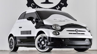 The Force Awakens with First Ever Fiat 500e Stormtrooper