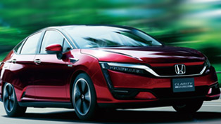 2016 honda civic coupe and clarity fuel cell vehicle to debut in l.a.