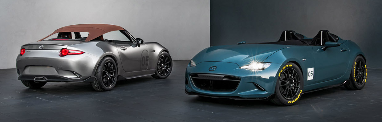 Mazda MX-5 Concepts for SEMA