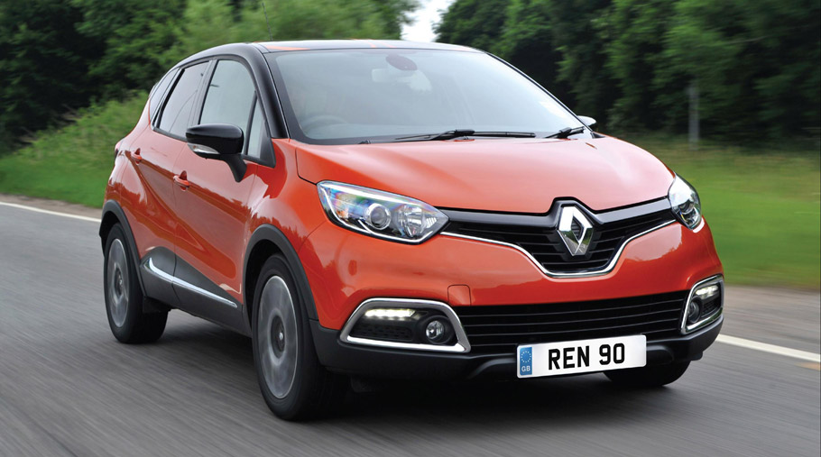 Renault Captur Front View