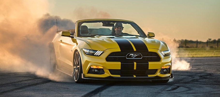 Hennessey Ford Mustang Convertible
