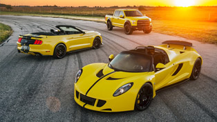 Hennessey and its Trifecta of Speed and Power at SEMA