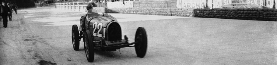 Louis Chiron at 1931 Monaco Grand Prix