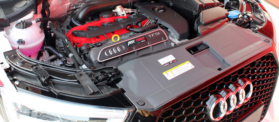 ABT Sportsline Audi RS Q3 Engine