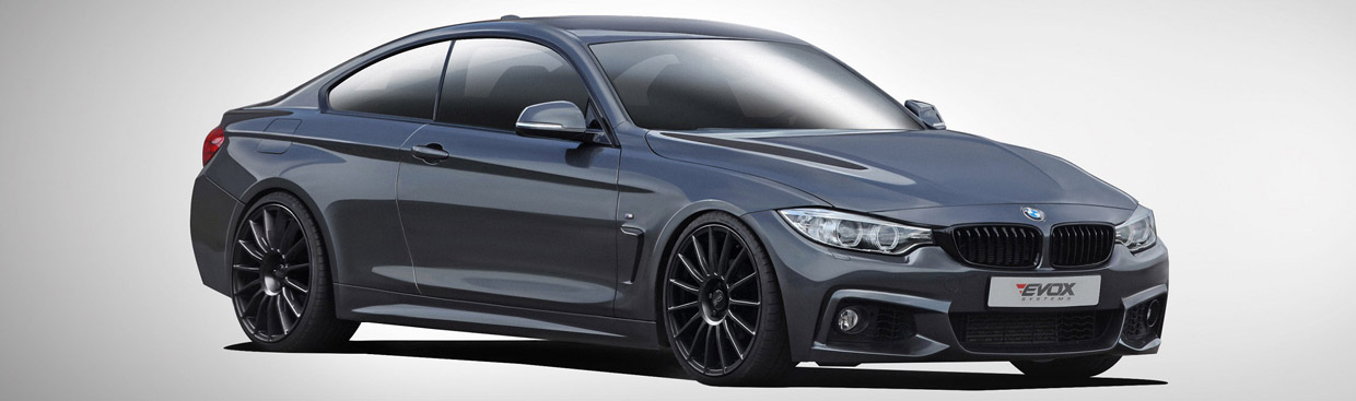 Alpha-N Performance BMW 4-Series Front and Side View