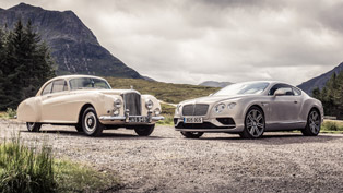 Bentley Shows the Evolution of Continental Through the Years [VIDEO]