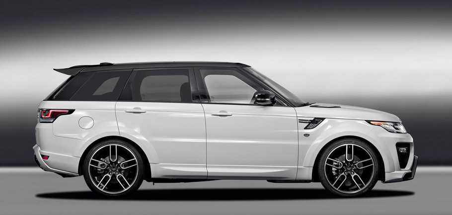 Caractere Range Rover Sport Side View