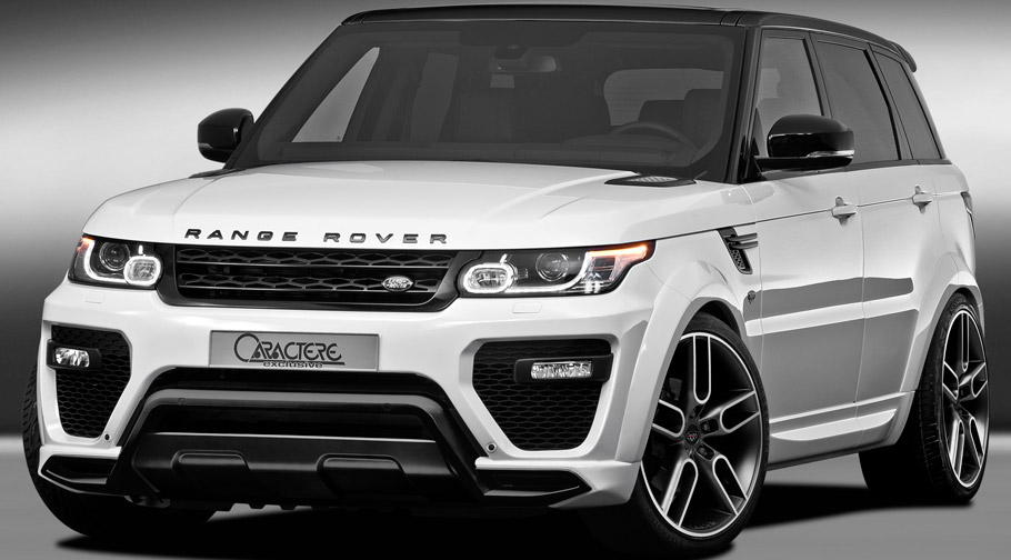 Caractere Range Rover Sport Front View