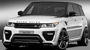 one-off range rover sport is caractere's gift for the winter holidays