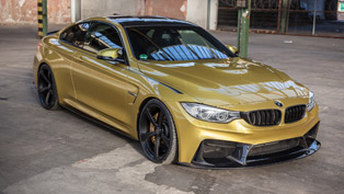 Carbonfiber Dynamics Releases One-Off BMW M4 with 3DDesign-Bodykit
