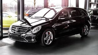 Carlex Design Refreshes The Interior Of a Lucky R-Class Car!