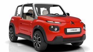 citroën unveils the dynamic and flexible 2016 e-mehari vehicle