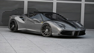 wheelsandmore makes comprehensive changes on a lucky ferrari vehicle