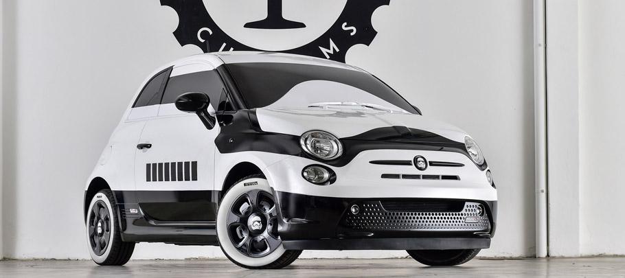 Fiat 500e Stormtrooper Exterior View