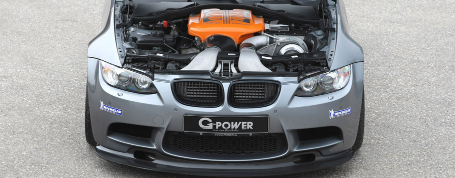 2015 G-Power BMW M3 RS E9X Engine