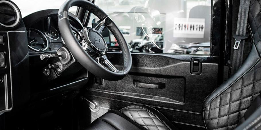 Kahn Land Rover Defender Hard Top CWT in Tamar Blue  Interior