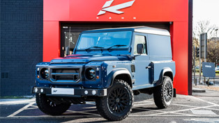 This Defender in Tamar Blue is the Best Ride for the Weekend
