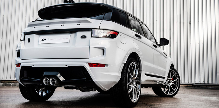 Kahn Range Rover Evoque RS Sport Rear View
