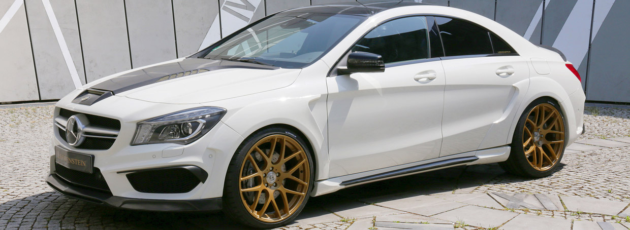Loewenstein Mercedes-Benz CLA45 AMG  Side View