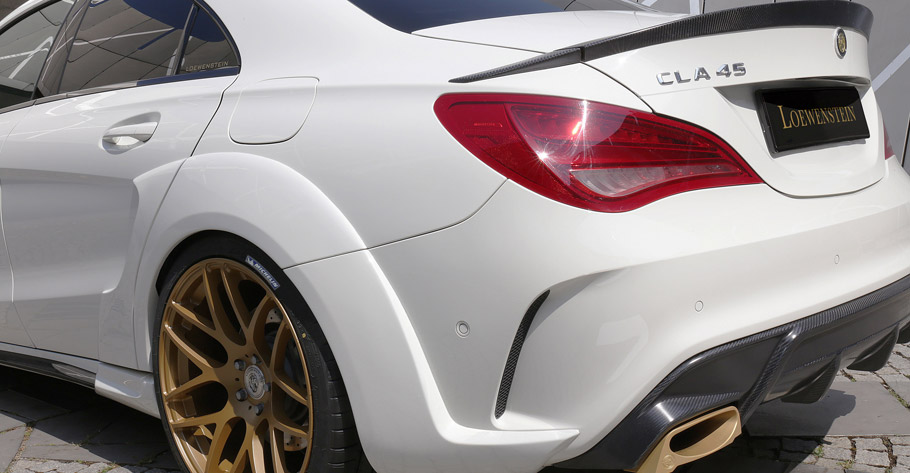 Loewenstein Mercedes-Benz CLA45 AMG Rear