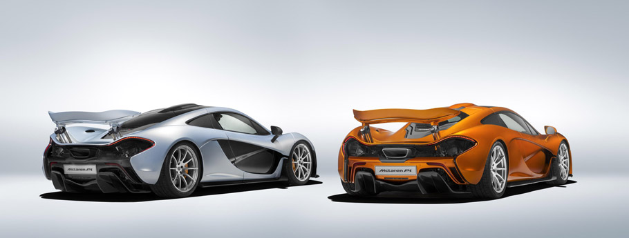 The First and Last Edition of McLaren P1 Rear View