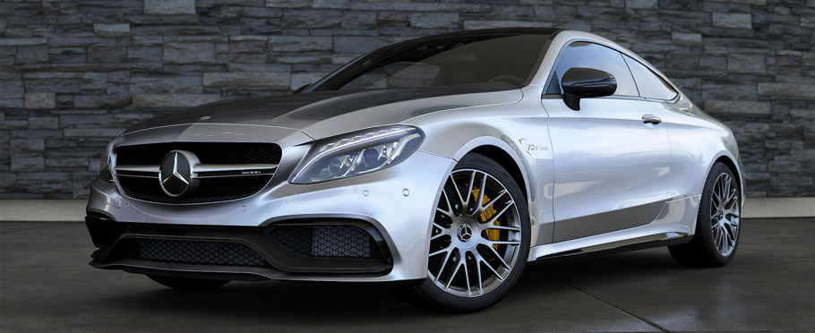 Mercedes-AMG C63 S Coupe for Forza Motorsport 6 Side View