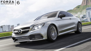 Mercedes-AMG C63 S Coupe is Featured in Forza Motorsport 6 [VIDEO]