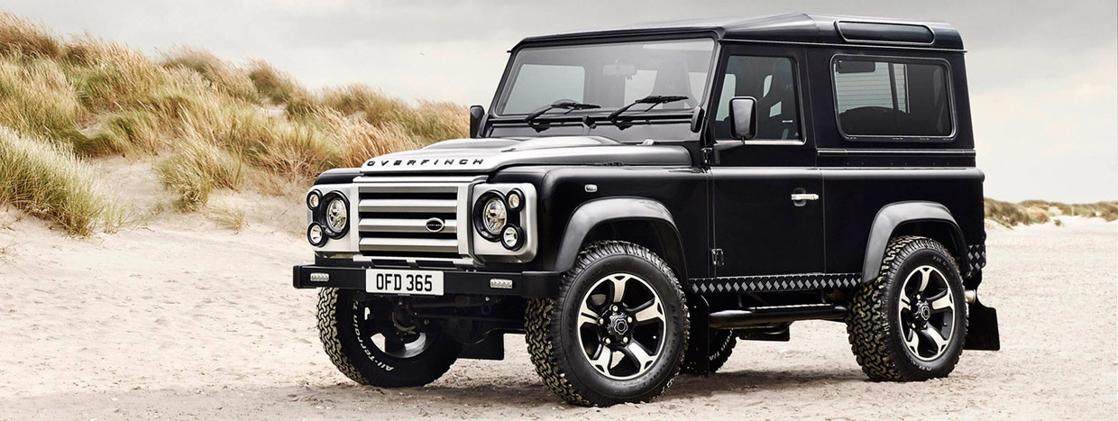 Overfinch Land Rover Defender Anniversary Edition Front View
