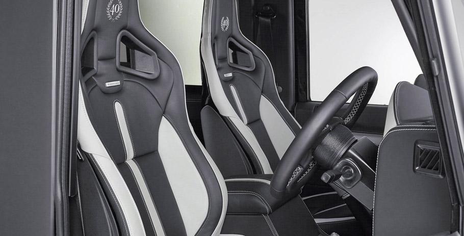 Overfinch Land Rover Defender Anniversary Edition Interior
